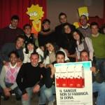 Foto di Gruppo, al termine della Festa dell'Epifania per i figli dei donatori!