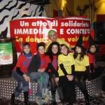 Foto di Gruppo, al termine della festa di Carnevale.
