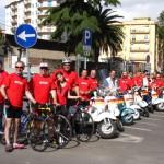 La passeggiata in bici: il Vespa Club di Caltanissetta!
