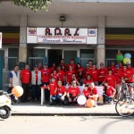 La passeggiata in bici: tutti i partecipanti!