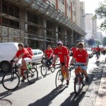 La passeggiata in bici