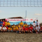 I Giovani Fidas Sicilia sfidano a beach soccer i Giovani Fidas Calabria
